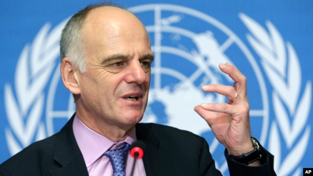 FILE - Dr. David Nabarro.