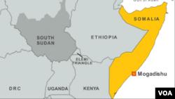 Taswirar Kasar Somalia ta Afirka