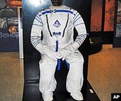 俄国博物馆中展出的太空服