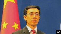 중국 외교부 리우웨이민 대변인 (자료사진).