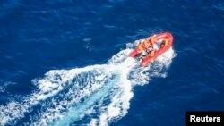 Lực lượng tuần duyên Philippines tìm kiếm người sống sót trong một vụ chìm phà ngoài khơi Philippines.