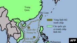 Philippines gọi Biển Nam Trung Hoa là Biển Tây Philippines