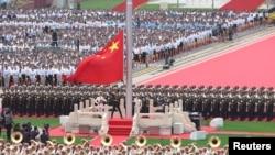 На фото: відзначення 100-річчя КПК у Китаї