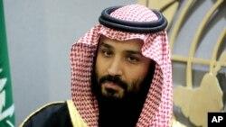 سعودی عرب کے ولی عہد شہزادہ محمد بن سلمان۔ فائل فوٹو