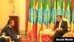 Daarekterii OMN,Jawaar Mohaammad Pirezidaanti Itoophiyaa Mulaatuu Teshoomeetiin wal mari'ate