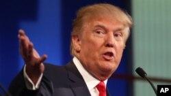Donald Trump, candidat aux primaires du parti républicain