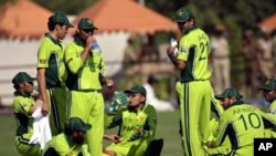 پاکستانی کرکٹ ٹیم (فائل فوٹو)