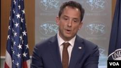 美國國務院發言人羅伯特·帕拉迪諾。