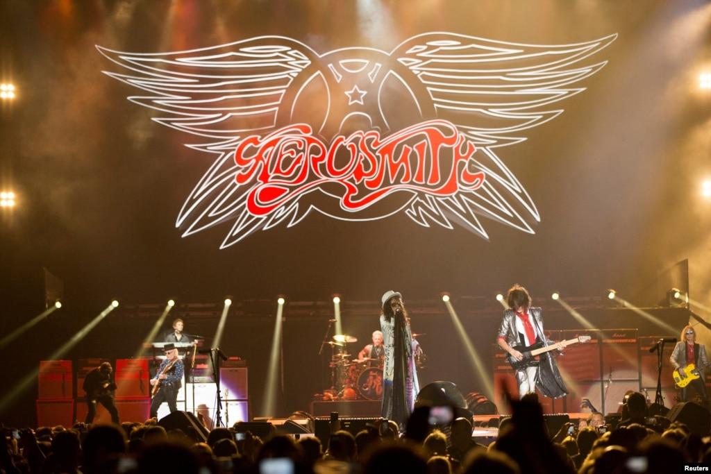 Aerosmith to say aero vederci with 2017 european tour