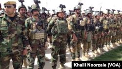 قرار است شمار نیرو های ویژه افغان به یک قول اردو افزایش یابد.