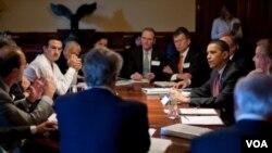 Los republicanos se oponen a las propuestas del presidente Obama hasta ahora y ya han ofrecido su alternativa llamada plan para trabajos sin costos.