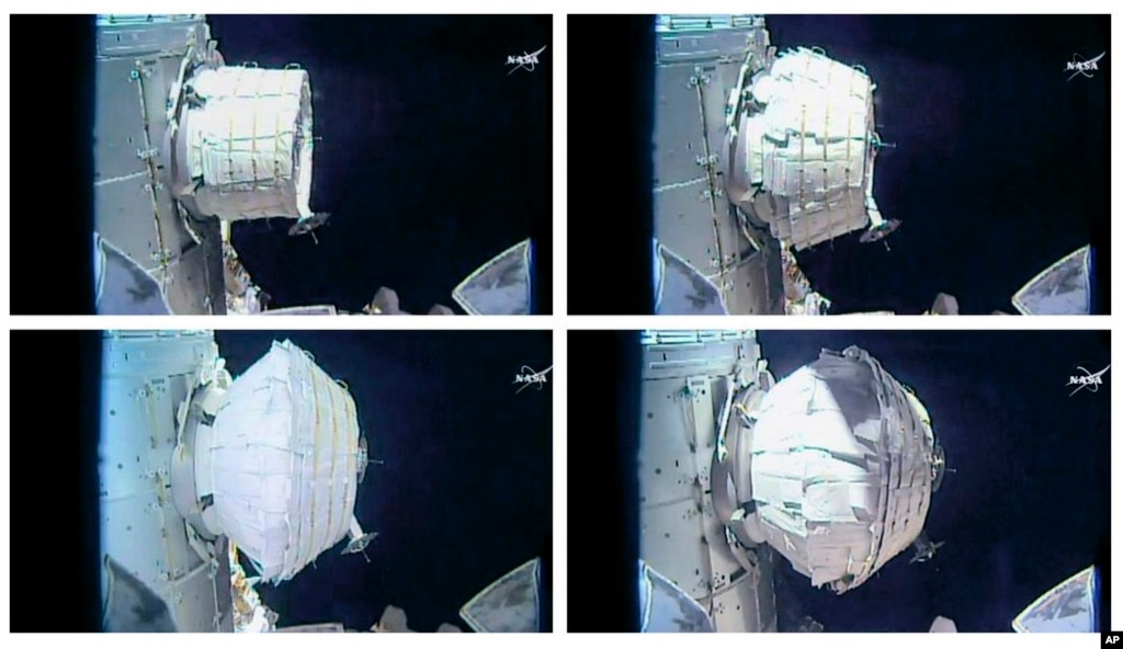International Space Station Gets a New Room