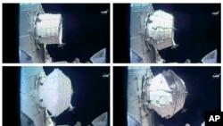 Hình ảnh của NASA cho thấy phòng thí nghiệm mới trên Trạm không gian quốc tế, ngày 28 tháng 5, 2016.