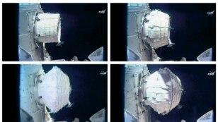 Foto dari NASA ini menunjukkan ruang eksperimen baru yang di stasiun luar angkasa internasional, 28 Mei 2016.