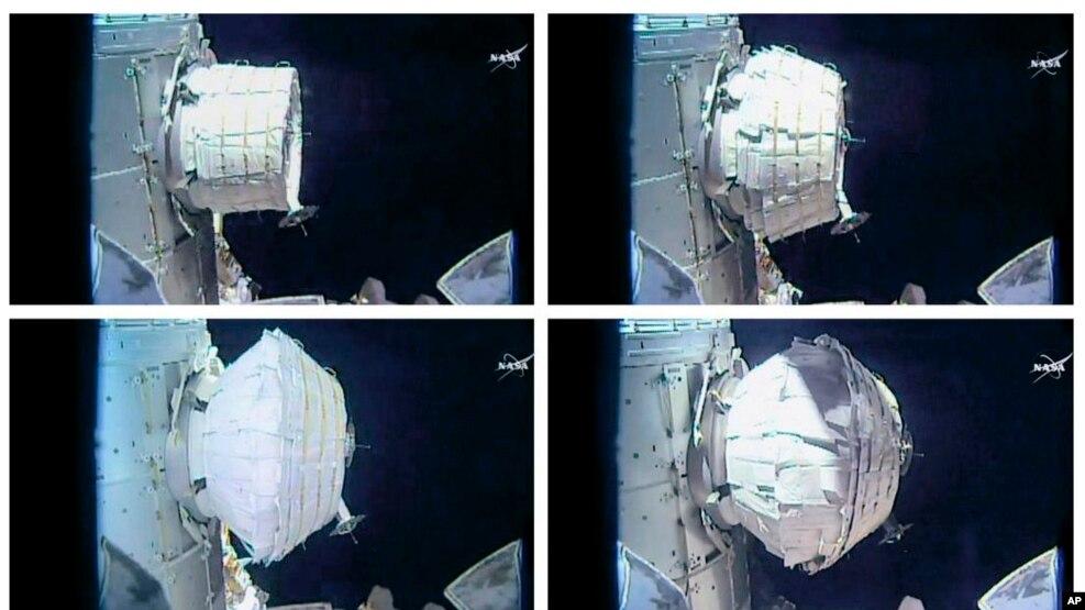 NASA eksperimenton me një banesë të re hapësinore