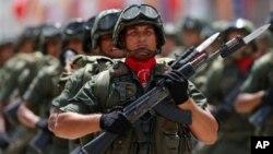 """La FANB califica de """"golpe suave"""" las manifestaciones antigubernamentales que desde el 12 de febrero se llevan a cabo en el país."""