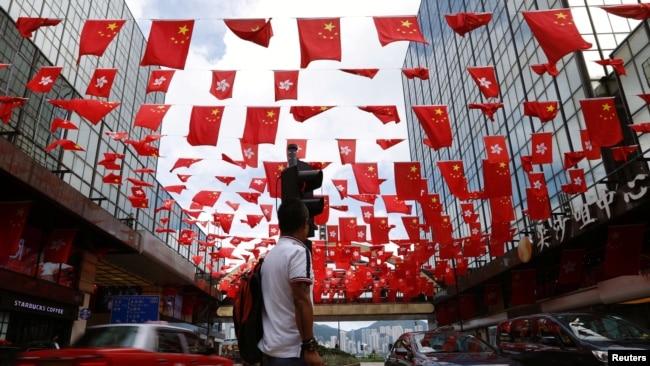 英国称中英联合声明仍适用, 中国称97之后香港事务属中国内政