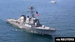 """AQShning """"USS Porter"""" harbiy kemasi"""