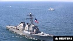 На фото: американський корабель USS Porter у Чорному морі