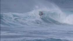 Campeón mundial de surf queda eliminado