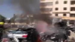 انفجار در مرکز فرهنگی ايران در بيروت
