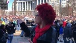 Por Escolas Mais Seguras e Sem Armas - Marcha Pelas Nossas Vidas em Washington DC