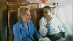 Obama'yla Clinton Arasındaki Siyasi Rekabet