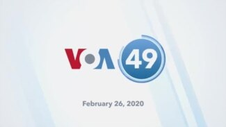 VOA60 Elections - Democratic Presidential Candidates Say Front-Runner Sanders Can't Beat Trump