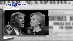 Ông Trump dẫn trước bà Clinton tại Florida (VOA60)