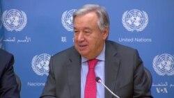 Secretario General de la ONU habla sobre Guatemala, Nicaragua y Venezuela