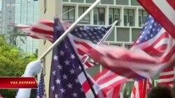 Lãnh đạo Hong Kong phản đối Mỹ ra luật nhắm vào Hong Kong
