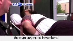 VOA60 World - NY, New Jersey Bombings Suspect Arrested