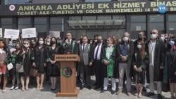 """""""Adalete Erişim Sorunu ve Avukatlara Baskı Var"""""""