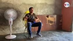 Desde La Lucha y con micrófono de cartón: Joven venezolano reporta problemas de su comunidad