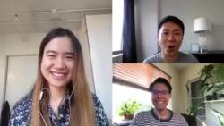 คุยข่าวกับ VOA Thai ในรูปแบบ work from home ประจำวันพุธที่ 8 เมษายน 2563