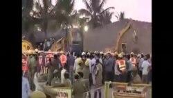印度樓房倒塌 死亡人數不斷增加