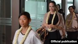 Angelina Jolie ရဲ႕ ျမန္မာႏုိင္ငံခရီးစဥ္ 29-07-2015 (ဓာတ္ပံု-MOI)