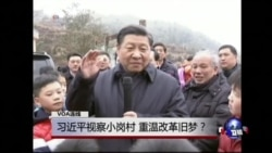 VOA连线(胡平):习近平视察小岗村,重温改革旧梦?