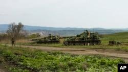 Вооруженные формирования Нагорного Карабаха на линии разделения огня