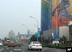 北京奥运期间交通顺畅