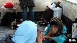 پانصد کارتن خواب زن در تهران جمع آوری شدند.