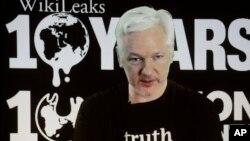 Sáng lập viên trang Wikileaks ông Julian Assange.