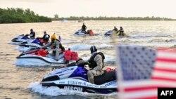 Pelabuhan Key West, Florida, tempat seorang pengikut ISIS berencana mengubur bom.