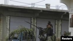 Borci Slobodne Sirijske armije u blizini Homsa