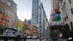 紐約年度感恩節遊行加強警戒