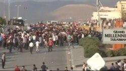 تظاهرات در کردستان عراق در اعتراض به پرداخت نشدن حقوق کارمندان