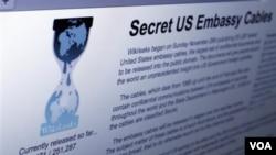 Los detalles son parte de los 250.000 cables diplomáticos filtrados.
