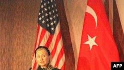 """Dövlət katibi Klinton:""""ABŞ Türkiyənin regionda və dünya miqyasında artan rolunu alqışlayır"""""""