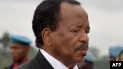 Shugaban Kamaru Paul Biya,