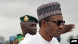 Le président Muhadu Buhari du Nigeria